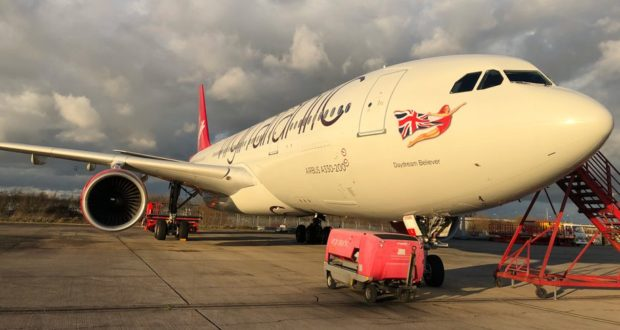 Virgin, Atlantic, lease, A330, aircraft, seating, premium economy, Air Berlin, flights, travel