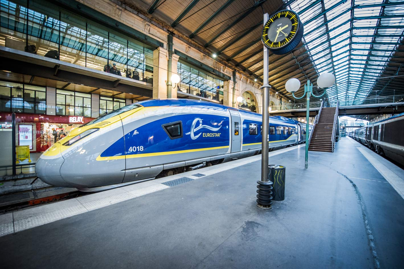 Eurail, Eurostar, London, Amsterdam, Rotterdam, air, competition, environment, travel, fly, service, highspeed, train