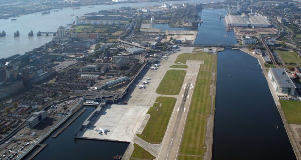 London City Airport, London, closed, shut, bomb, Thames, WW2, cordon, police, delay, flights, airlines, capacity
