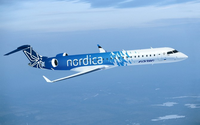 Nordica, Regional Jet, leasing, lessor, Estonia, LOT, Polish, Groningen, Tallinn