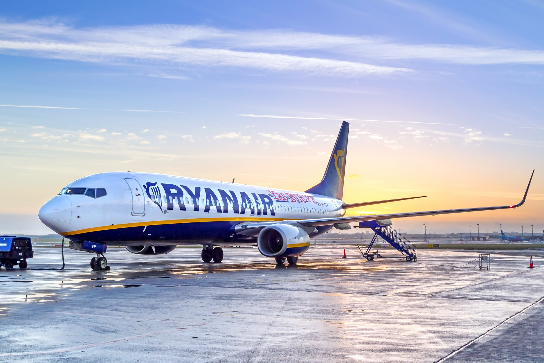 Ryanair, CPH, Copenhagen, Kaunas, Lithuania, base, open, reopen, aircraft, flights, low-cost, unions, Danish, Eddie Wilson