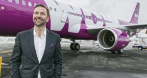 Wow air, keflavik, discount, offer, flights, New York, JFK, Newark, USA, Europe, cities, buy, invest, Indigo, Wizz Air, Frontier, Icelandair, resurrect, bring back, founder, restart, flights, leasing, fleet, plan, presentation, investor