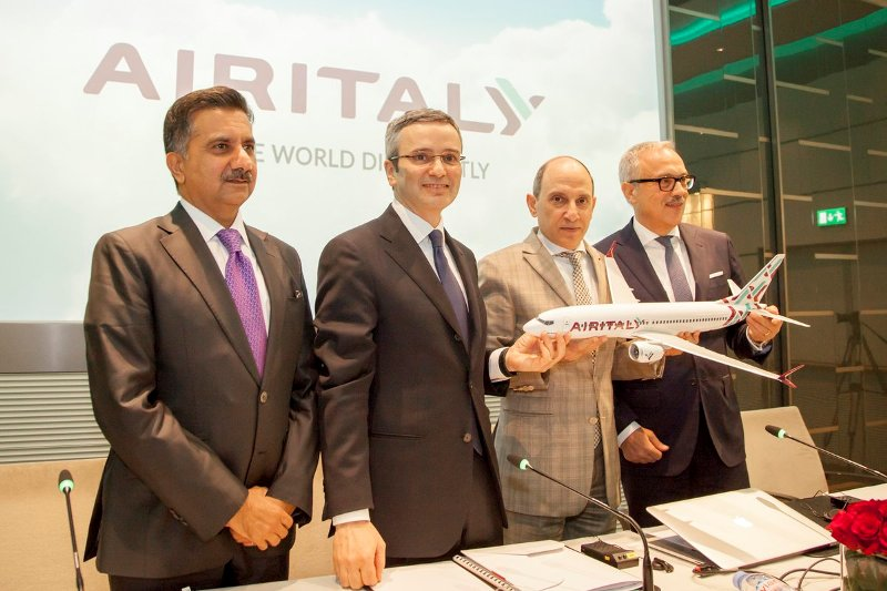 Air Italy, Italy, flights, plans, Meridiana, Qatar Airways, rebrand, India, A350-1000, Alitalia