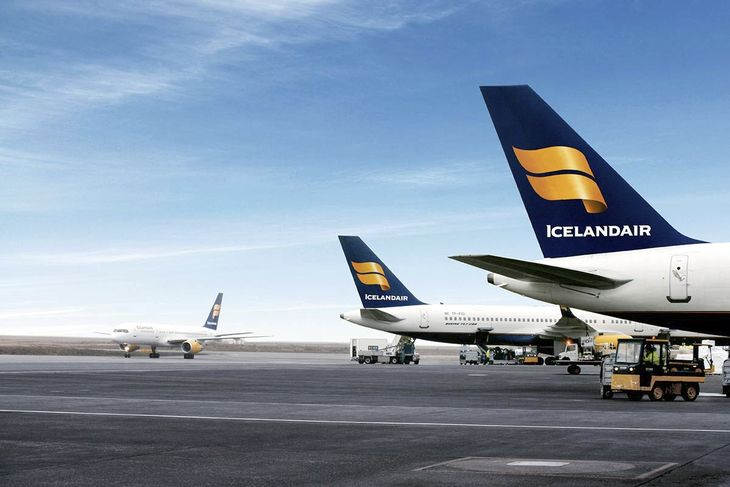 Icelandair, Iceland, WOW air, compete, routes, flights, Keflavik, Asia, India, first