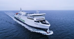 Scandlines, hybrid, green, ferry, Berlin, Denmark, Baltic, Germany, Hasytec Dynamic Biofilm Protection System