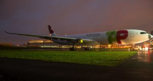 Airbus, TAP, fuel, economical, Portugal, airline, A330neo, paint, livery, roll-out, Toulouse, first, launch operator