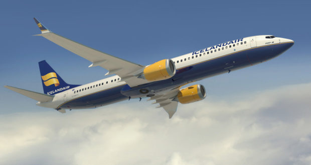 icelandair starts to expand fleet with max delivery