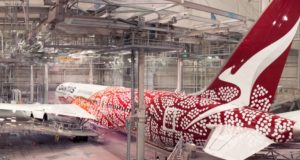 Qantas, branding, marketing, Lufthansa, KLM, United Airlines, livery, design, dreaming, dots, events, special, one-off