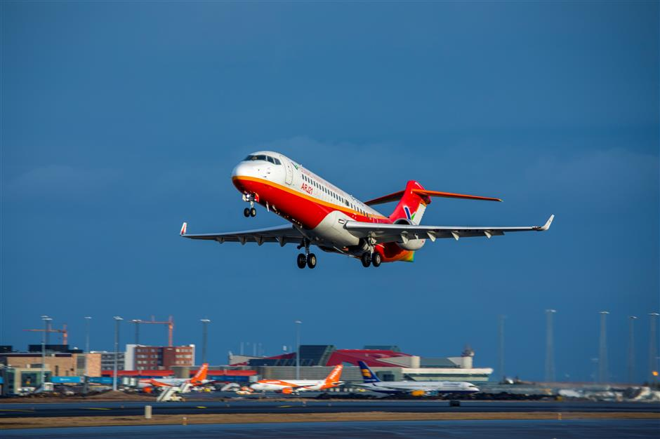 China, Comac, flight, test, wind, Iceland, new, commercial aviation, Airbus, Boeing, competitior