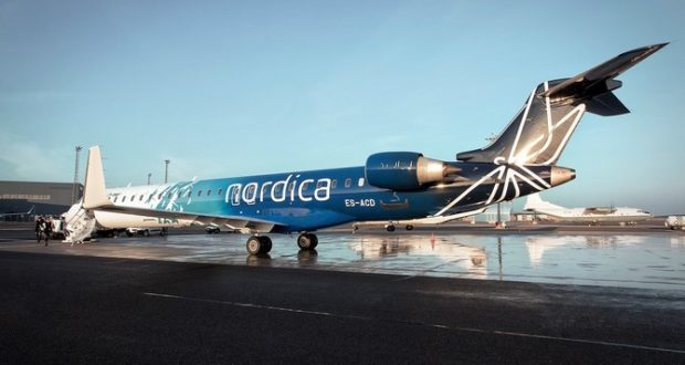 Nordica, Regional Jet, revenues, profit, flights, Tallinn, Estonia, results, 2017, passengers, fleet, Oslo, routes, competition, airBaltic, Norwegian, St Petersburg, Amsterdam, leasing, ACMI, buy, buyout, stake, 2019, Q1, quarter, first, passengers