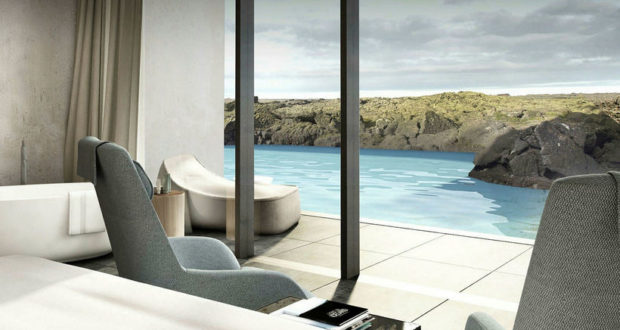 The Retreat, Blue lagoon, Iceland, private, luxury, spa, volcanic, chef, butler, hotel