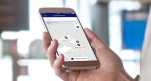 SkyTeam, app, mobile, navigation, map, plan, airports, technology, members