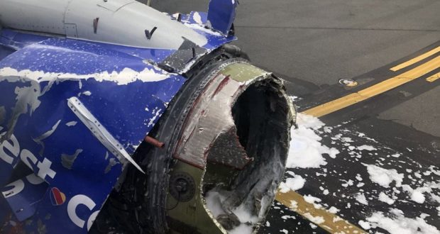 Southwest, accident, engine, blow, explode, passenger, death, mid-air, Boeing
