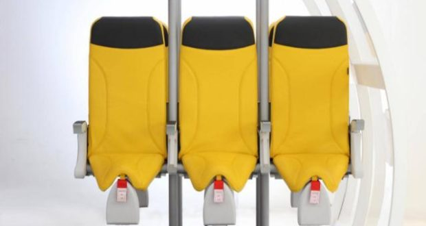 Aviointeriors, Skyrider 2.0, seating, airline, aircraft, plane, shrinking, pitch, upright, Aircraft Interiors Expo