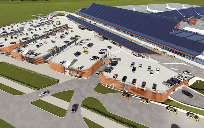 Tallinn Airport, car park, biggest, Estonia, construction, build, plan