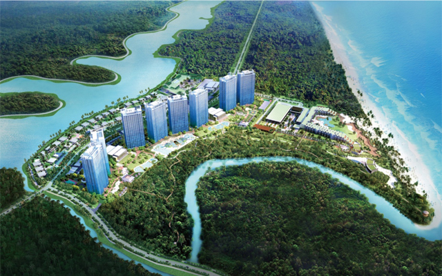 Haven, Indonesia, Yunnan, Bintan, island, Singapore, hotel, development, high-rise, bay, Asia, apartment
