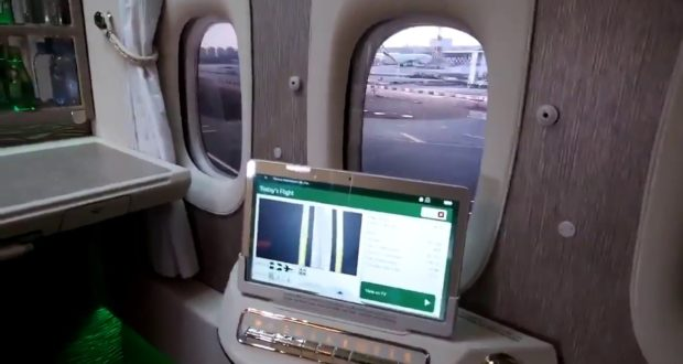 Emirates, windowless, air travel, airlines, future, danger, emergency, safe, virtual, windows