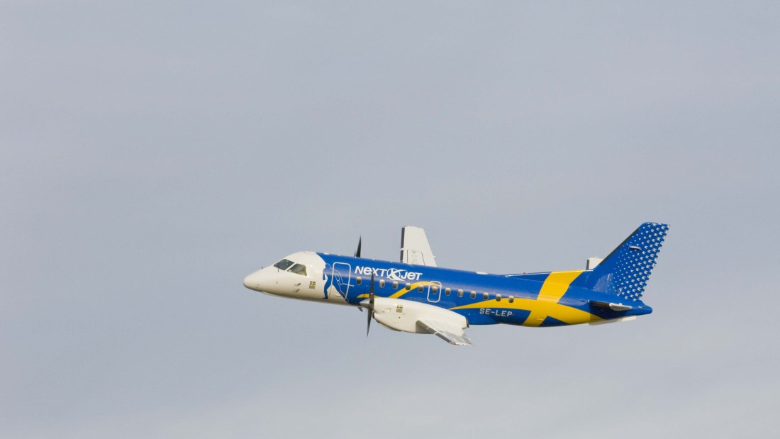 NextJet, Sweden, airline, bankrupt, but, group, company, Olsen, DAT, fishing, routes, relaunch, Aland, Stockholm, Amapola Flyg, Air Scandic