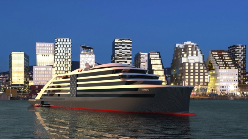 Norwegian Yacht Voyages, design, start-up, cruise, ships, architects, Helge R Naarstad, chairman, NCL
