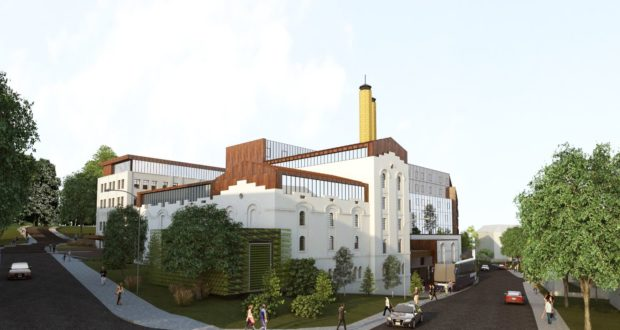 Tauropolis, hotel, brewery, Vilnius, construction, renovation, buildings, Lithuania, Baltics