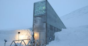Svalbard, climage change, foundations, buildings, hotels, Funken, cabins, vault, damage, walls, Ny-Ålesund, service centre, environment