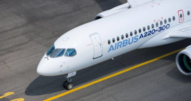 Airbus, Bombardier, CSeries, A220, rebrand, name, JetBlue