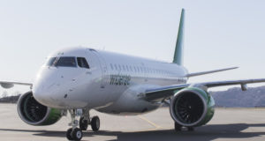 Widerøe, Embraer, E2, Bergen, Liverpool, flights, route, launch, maiden, Munich, Hamburg, Billund, Aberdeen, fjords, football