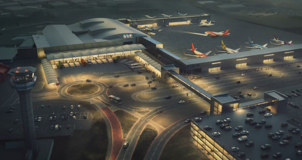 London Luton Airport, worst, airport, UK, development, renovation, build, construction, CEO, which?, survey, watchdog, Nick Barton