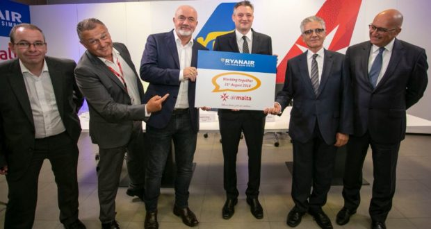 Ryanair, Air Malta, partner, flights, destinations, deal, Air Europa