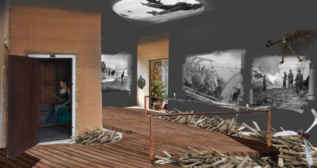 Måløy Raid Centre, museum, Maaloy, prince, open, war, Nazi, German, Norway, raid, Operation Archery, British, footage, film, photographs, reconstruct, commandos, WWII