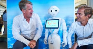 Pepper, robot, work, employment, TUI, Stockholm, Nordics, office, machine learning, department, data, inspiration