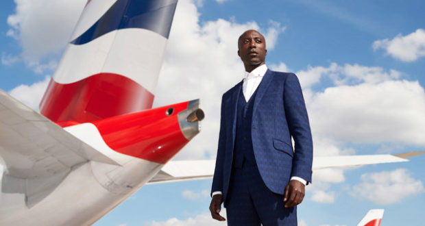 BA, Ozwald Boateng, designer, tailor, British Airways, uniforms, fashion, airline, London