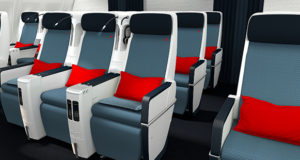 Air France, premium economy, economy, seating, facilities, cabin, long-haul, A330, new, style, look, USB, pitch, size