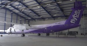 Flybe, livery, social media, purple, new, film, video, Q400, Embraer, airline, marketing