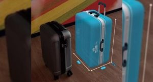 ar, augmented reality, KLM, airline, check, hand baggage, bags, cabin, size, app