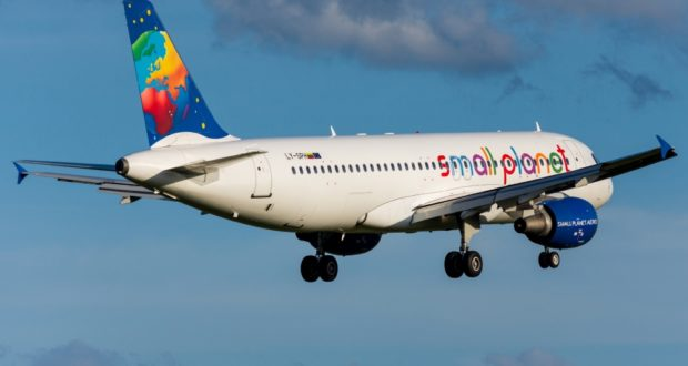 Small Planet Airlines, insolvent, bankrupt, court, Germany, Air Berlin, Vilnius, Lithuania, charter, flights, airline, tour operator, restructuring