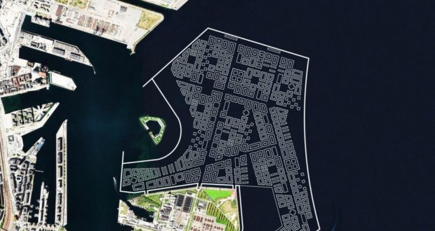 copenhagen, lynetteholmen, island, artificial, construction, homes, hotels, tourism, tunnel, transport, Denmark