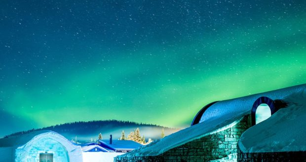 Icehotel, Northern Lights, award, export, Export Hermes, Sweden, win, prize, Morakniv, 365, year-round, PR, tourism, stay, travel, Lapland, experience