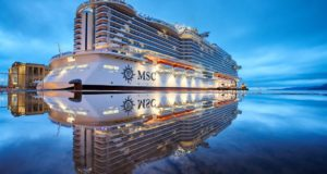 MSC, ships, expensive, luxury, new, order, smaller, cruise, ultra-luxury, butler, price, cost, cabin, room, suite, Vago, Fincantieri, CLIA, conference, travel agent, sell, pitch, brand, Southampton, Bellissima