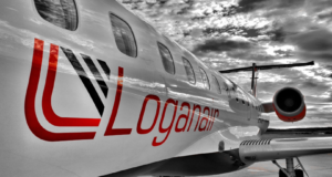 Loganair, Avinor, Scotland, routes, flights, Embraer, Bergen, Stavanger, Norway, Islay, Guernsey, Channel Islands, Hebrides, Edinburgh, Norway, flybmi, Oslo, Esbjerg, Denmark, bankrupt, insolvent, pick up