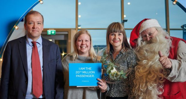 Finavia, Finland, HEL, Helsinki Airport, 20 million, passengers, year, number, welcome, invest, forecast