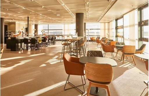 Lufthansa, lounge, Panorama Lounge, new, access, business travel, buffet, sanitary, showers, flight, Travel, airline, Frankfurt Airport, expand