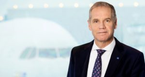 rickard gustafson, SAS, CEO chief executive, interview, CNN, business traveller, program, times, dates, short-haul, products, airline, flights