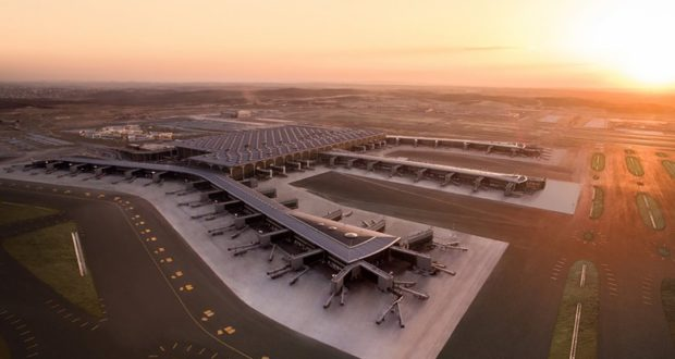 Istanbul Airport, floor space, size, duty free, shops, stores, open, date, fully operational, Turkish Airlines, Turkey, hub, world, biggest, airport, size, passengers