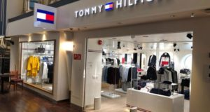 Tommy Hilfiger, store, shop, shopping, clothes, brand, Tallink, Silja, Symphony, ship, sea, ferry, cruise, Helsinki, Stockholm, Baltic, first, Desigual