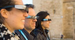 technology, Spectacles, TUI Destination Experiences, TUI, tours, city, tourism, travel, augmented reality, AR, glasses, information, guide, Palma, test, trial