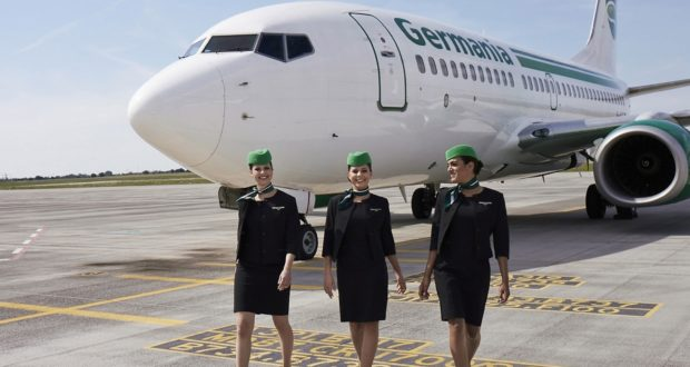 Germania, airline, Swiss, new, owner, CEO, plans, 2019, summer, flights, routes, Air Prishtina, Kosovo, Berlin, operations