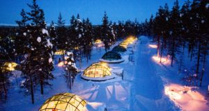hotel, occupancy, Igloo, Rovaniemi, stay, overnights, Finland, 2018, December, Santa, record, number, statistics, snow, source markets, tourism, travel