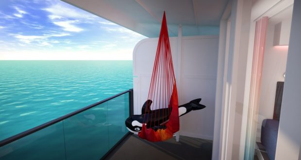 Virgin Voyages, cruise, Caribbean, destinations, call, ports, itineraries, inaugural, first, season, Havana, Cuba, Dominican, Mexico, hammock, cabin, balcony, bed, adults-only