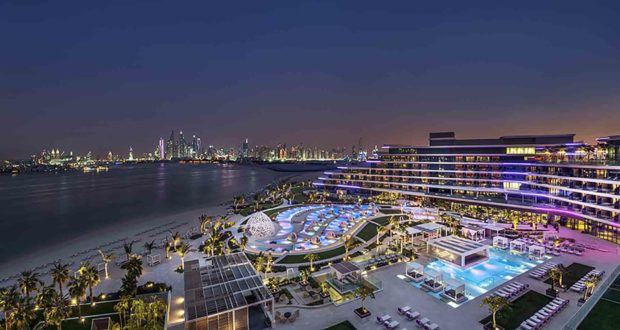 W Dubai - The Palm, w hotels, Dubai, new, open, Marriott, UAE, stay, views, best, spa, restaurants, dining, Fairouz, Massimo Bottura, Akira Back, design, pools, hip, fashion